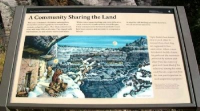 A Community Sharing the Land Marker image. Click for full size.