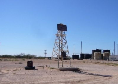 Andrews County Discovery Well Marker image. Click for full size.