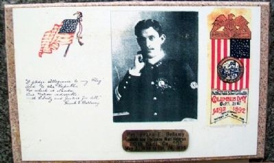 Frank E. Bellamy Photo on Marker image. Click for full size.