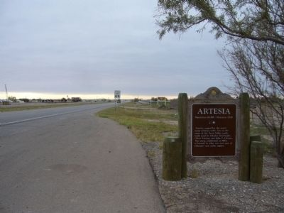 Artesia Marker image. Click for full size.