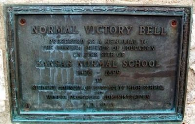 Normal Victory Bell Marker image. Click for full size.