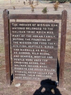 The Indians of Mission San Antonio image. Click for full size.