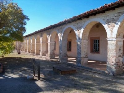 Mission San Antonio de Padua Arcade image. Click for full size.