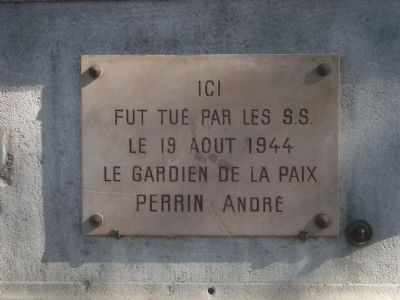 André Perrin Marker image. Click for full size.