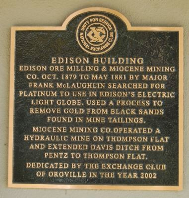 Edison Building Marker image. Click for full size.