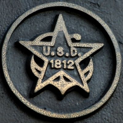 Seal of the Daughter's of 1812 on the marker image. Click for full size.