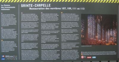 Sainte-Chapelle Marker image. Click for full size.