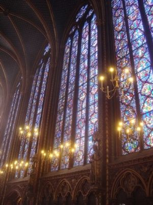 Sainte-Chapelle image. Click for full size.