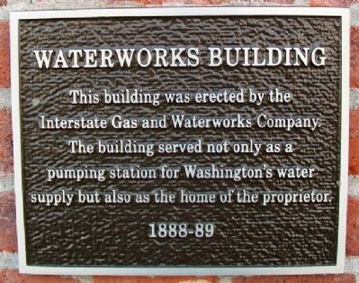 Waterworks Building Marker image. Click for full size.