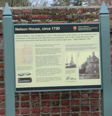 Nelson House, circa 1730 Marker image. Click for full size.