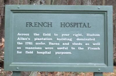 French Hospital Marker image. Click for full size.
