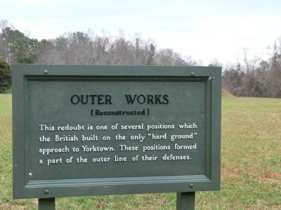 Outer Works Marker image. Click for full size.