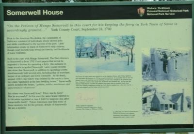 Somerwell House Marker image. Click for full size.