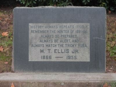 W. T. Ellis Jr. Monument image. Click for full size.
