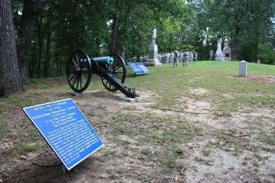 Battery I, 4th U.S. Artillery. Marker image. Click for full size.