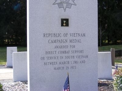 Mercer County Vietnam Veterans Memorial Marker image. Click for full size.