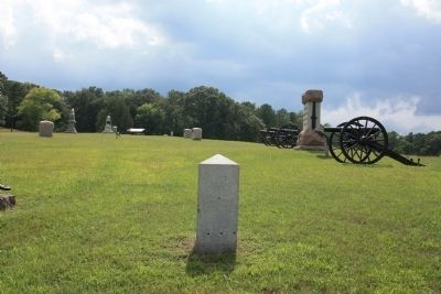 124th Ohio Infantry Marker image. Click for full size.
