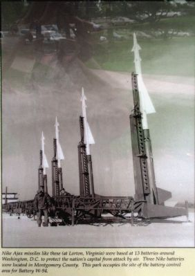 Nike Ajax Missiles, from the marker image. Click for full size.