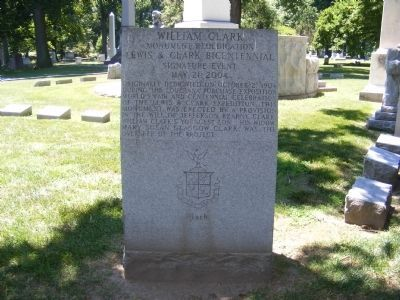 William Clark Monument Marker image. Click for full size.