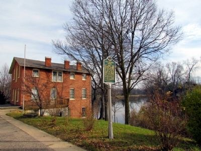 Sue Silliman House and the St. Joseph River image. Click for full size.