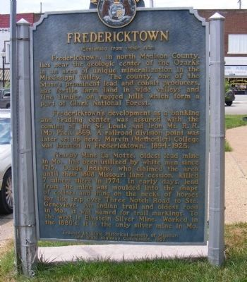 Fredericktown Marker image, Touch for more information