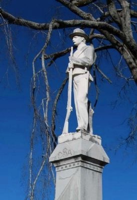 Hart County Confederate Monument image. Click for full size.