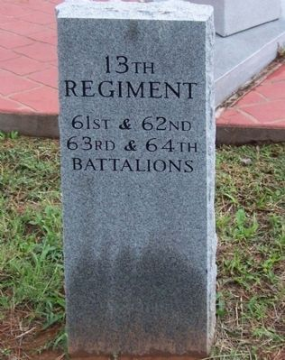 Camp Fannin, Texas 13th Regiment Tribute image. Click for full size.