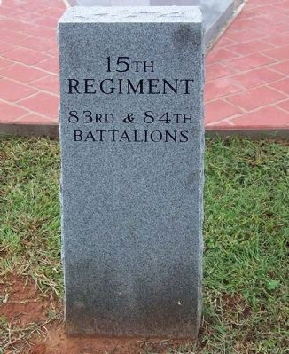 Camp Fannin, Texas 15th Regiment Tribute image. Click for full size.