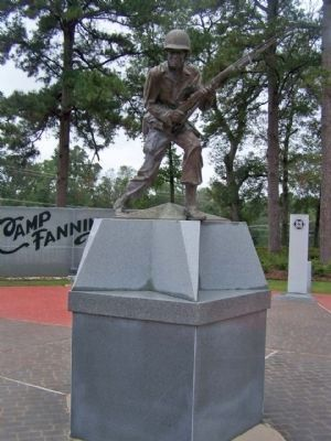 Camp Fannin, Texas, Infantry Memorial image. Click for full size.