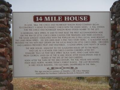 14 Mile House Marker image. Click for full size.