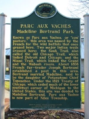 Parc Aux Vaches Marker image. Click for full size.