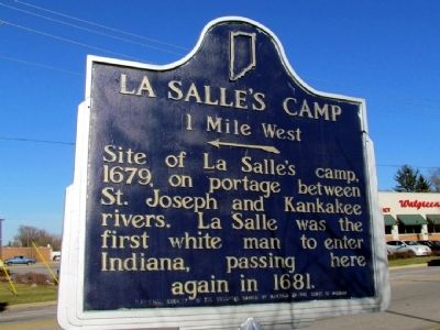 La Salle's Camp Marker image. Click for full size.