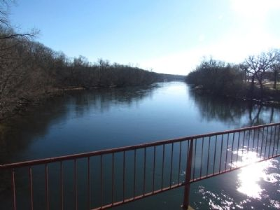The St. Joseph River, 1 Mile West of La Salle's Camp Marker image. Click for full size.