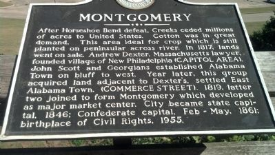 Montgomery Marker at Overlook Park image. Click for full size.