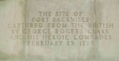 The Site of Fort Sackville image. Click for full size.