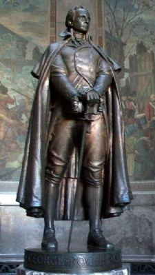 George Rogers Clark Memorial Statue image. Click for full size.
