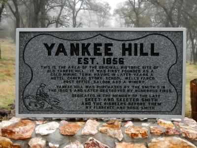 Yankee Hill Marker image. Click for full size.