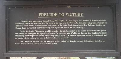 Prelude to Victory Marker image. Click for full size.