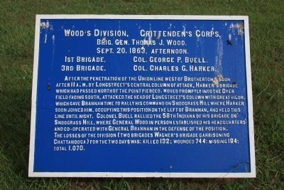Wood's Division Marker image. Click for full size.