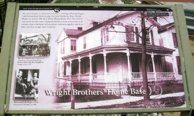 Wright Brothers Home Base Marker image. Click for full size.