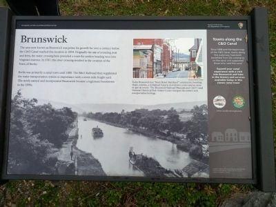 Brunswick Marker image. Click for full size.