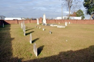 The Twiggs Cemetery, Family Burying Ground on Good Hope Plantation image. Click for full size.