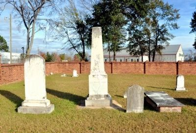 Twiggs family graves in the Twiggs Cemetery, Family Burying Ground on Good Hope Plantation image. Click for full size.