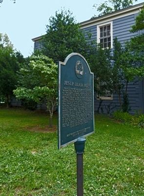 Jesup Blair House Marker at Jesup Blair House image. Click for full size.