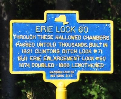 Erie Lock 60 Marker image. Click for full size.