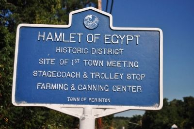 Hamlet of Egypt Marker image. Click for full size.