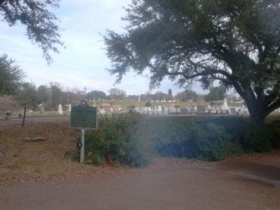 Natchez City Cemetery Marker image. Click for full size.