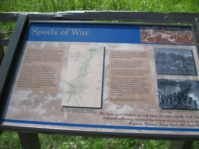 Spoils of War Marker image. Click for full size.