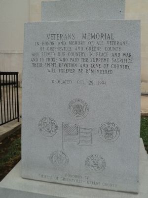 Front of Monument image. Click for full size.