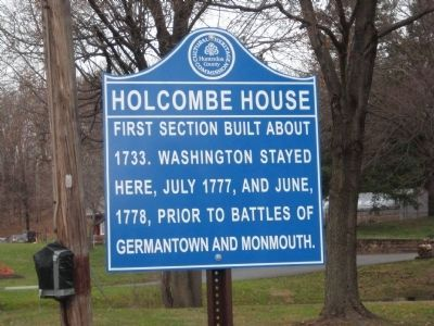 Holcombe House Marker image. Click for full size.